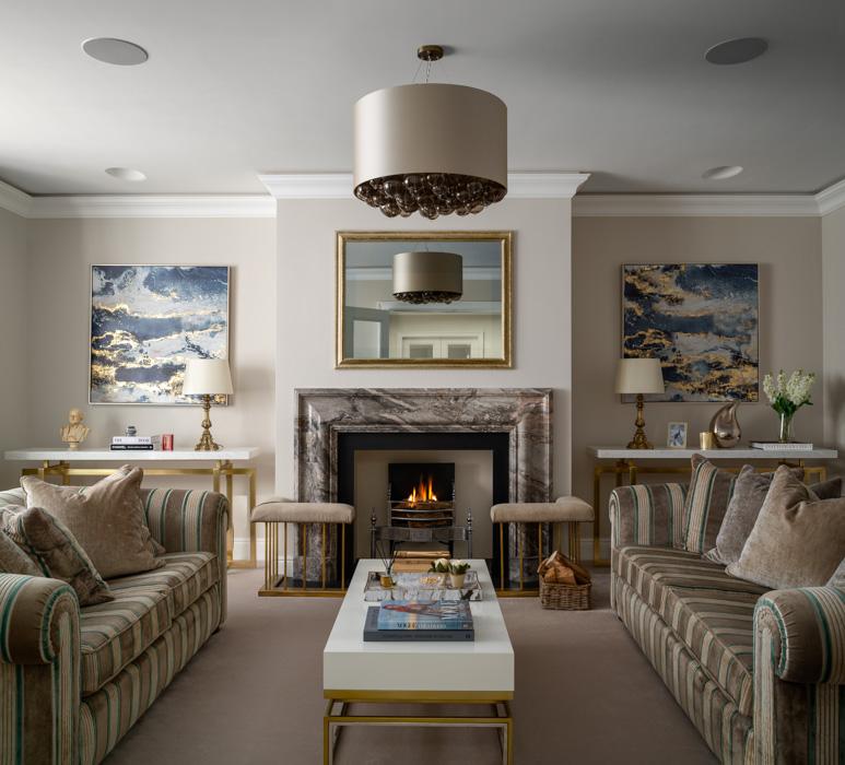 harriet hughes beige living room design