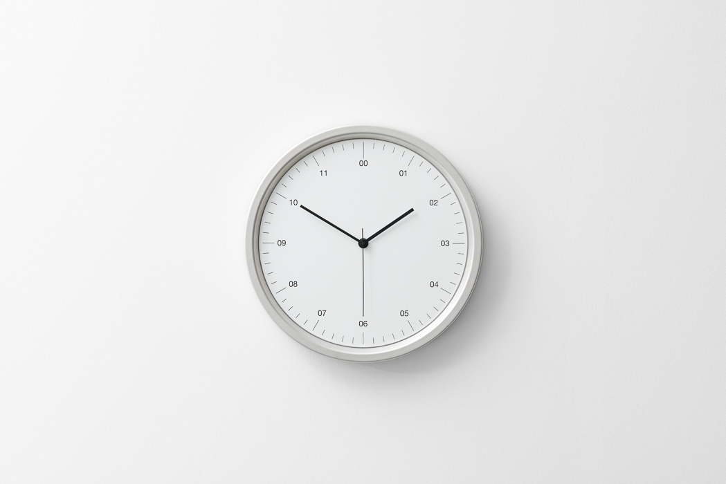 white clock product photography zac and zac