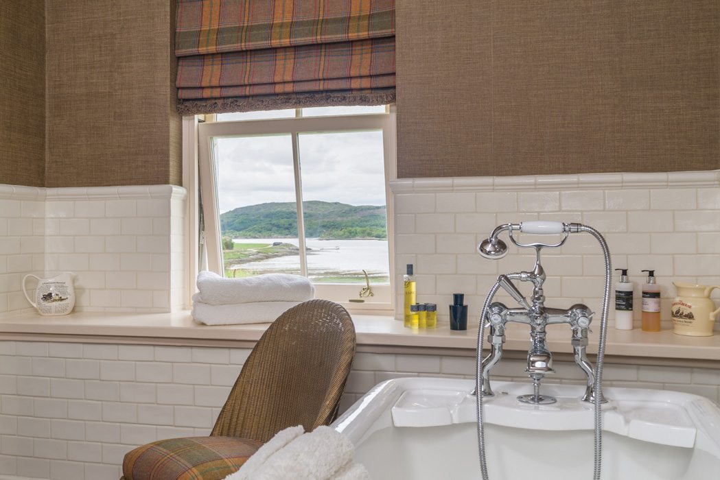 Laudale Estate Bathroom Interior Photography Tartan Traditional Theme