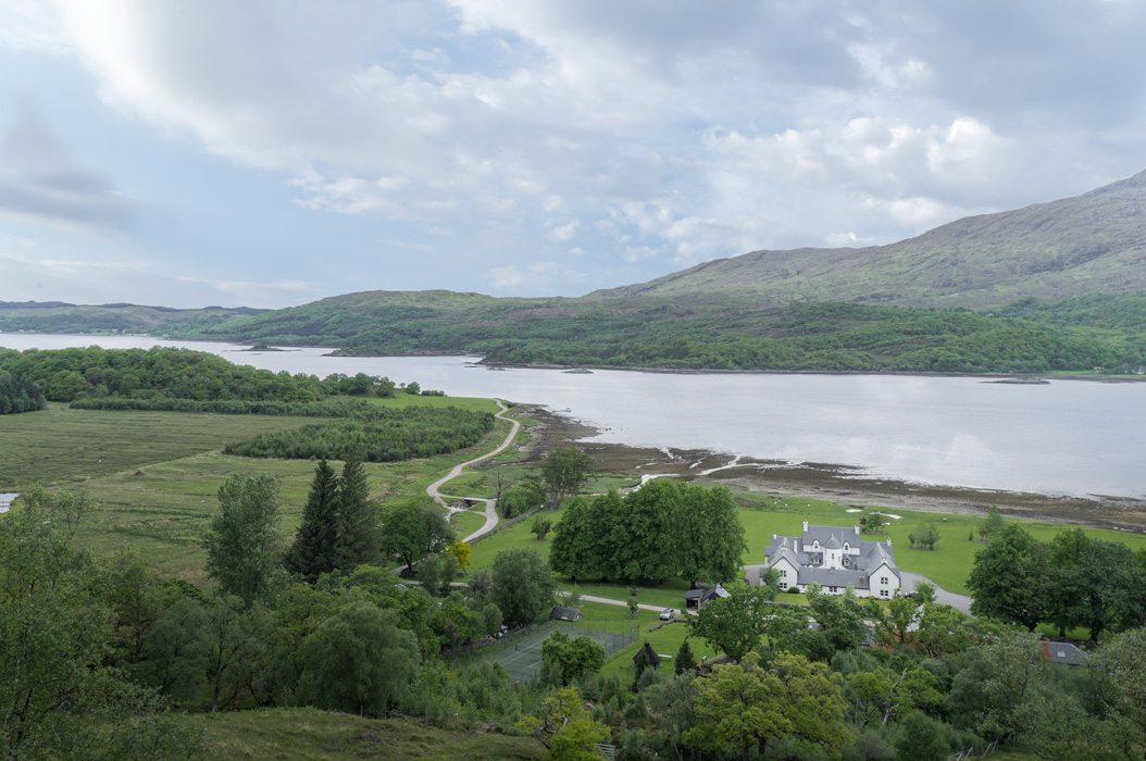 Laudale Estate Landscape Highlands Scotland