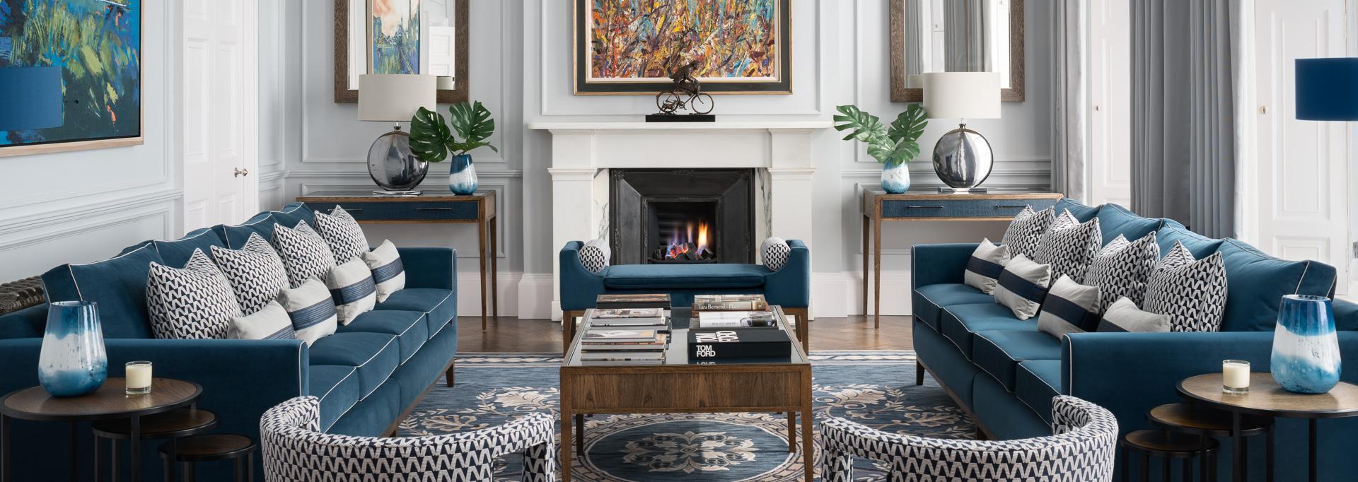 herriot row zac and zac blue livingroom decor