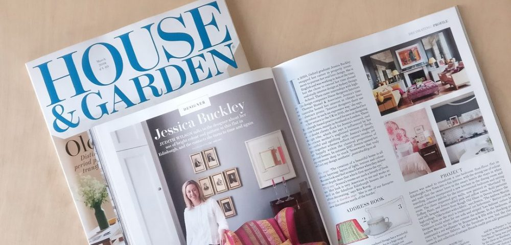 Interior Designer Jessica Buckley in House & Garden