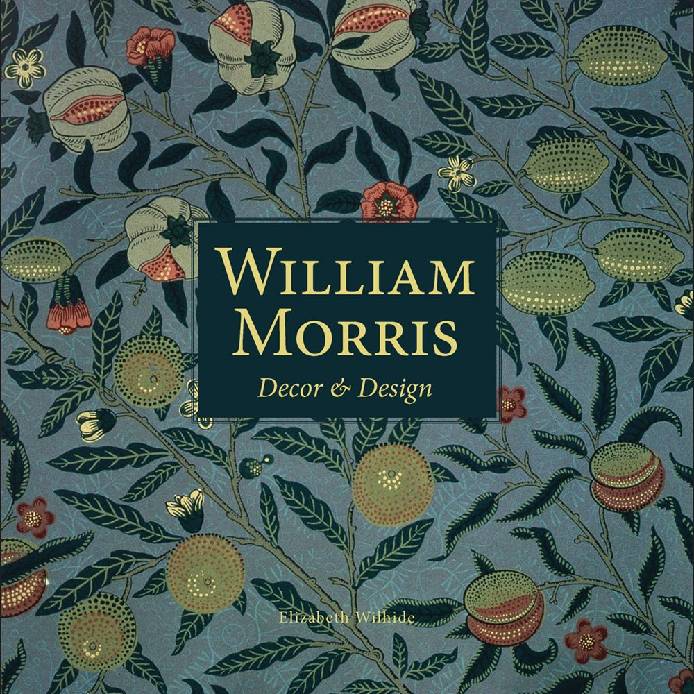 William Morris decor and design book cover