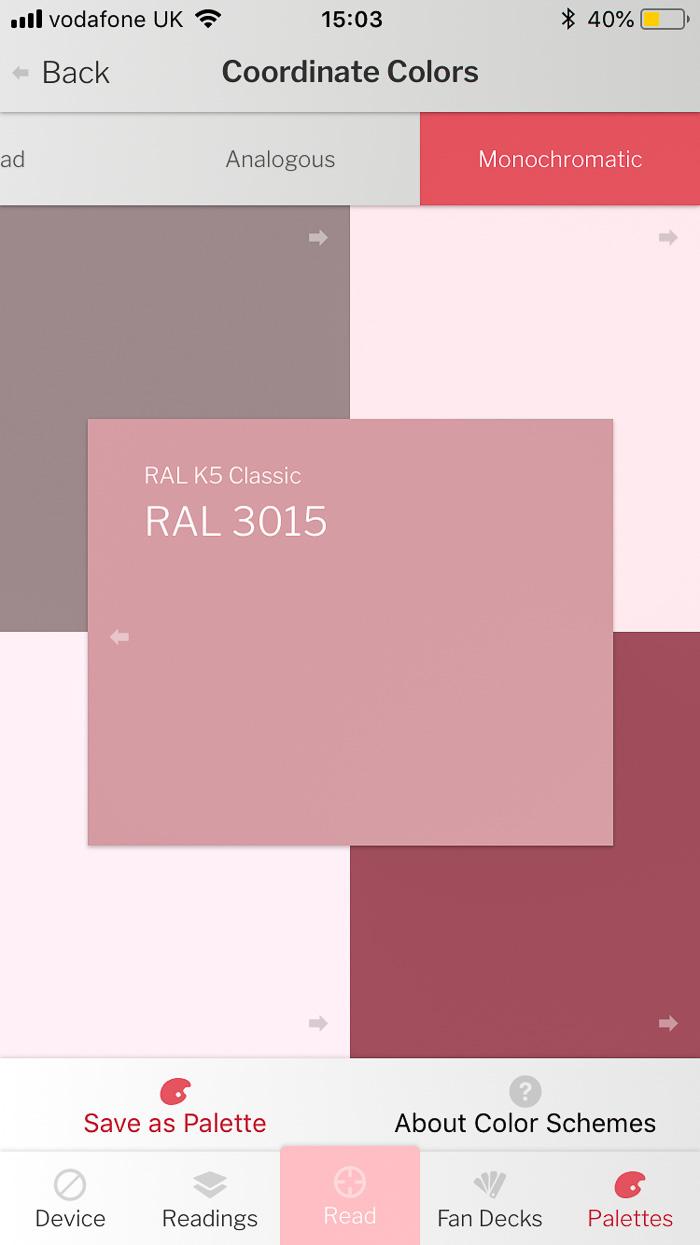 data color colour reader pink