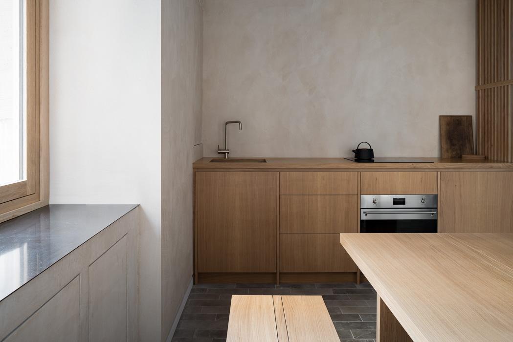 Dinning and kitchen interior photoshoot