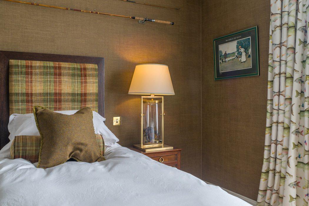 Laudale Estate Bedroom Interior Traditional Design Scotland