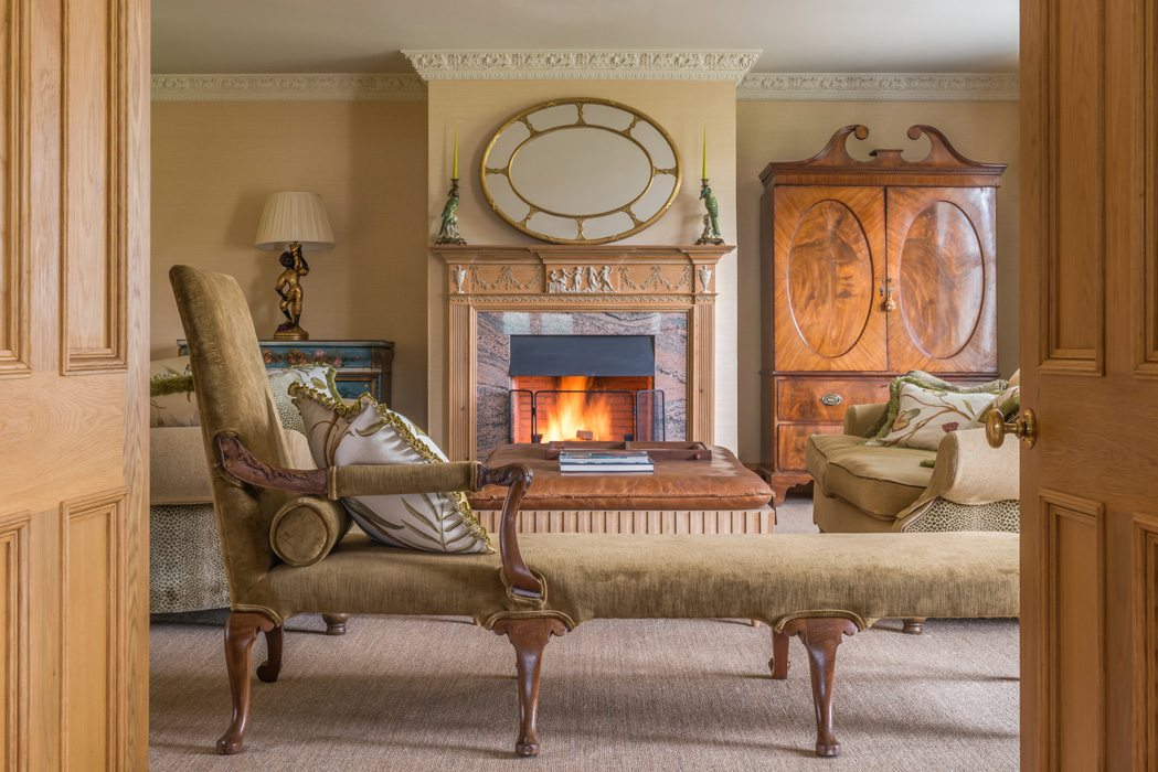 Laudale Estate Scotland Interior Traditional Living Room Photograph