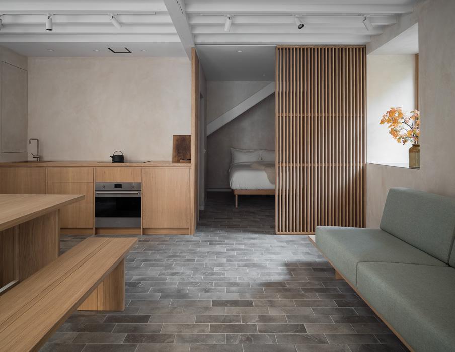 project photo of Porteous studio