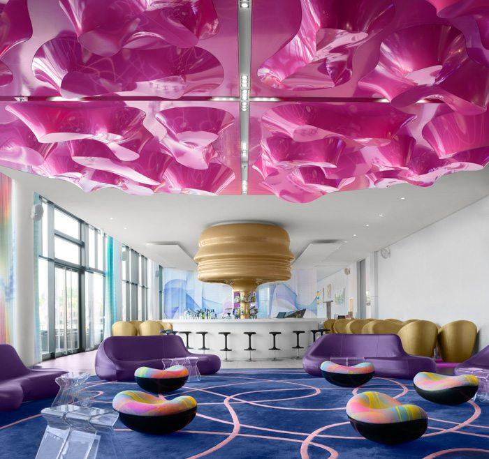 Interior Design Photography Pink Purple White Living Space Edinburgh Glasgow Scotland Architectural