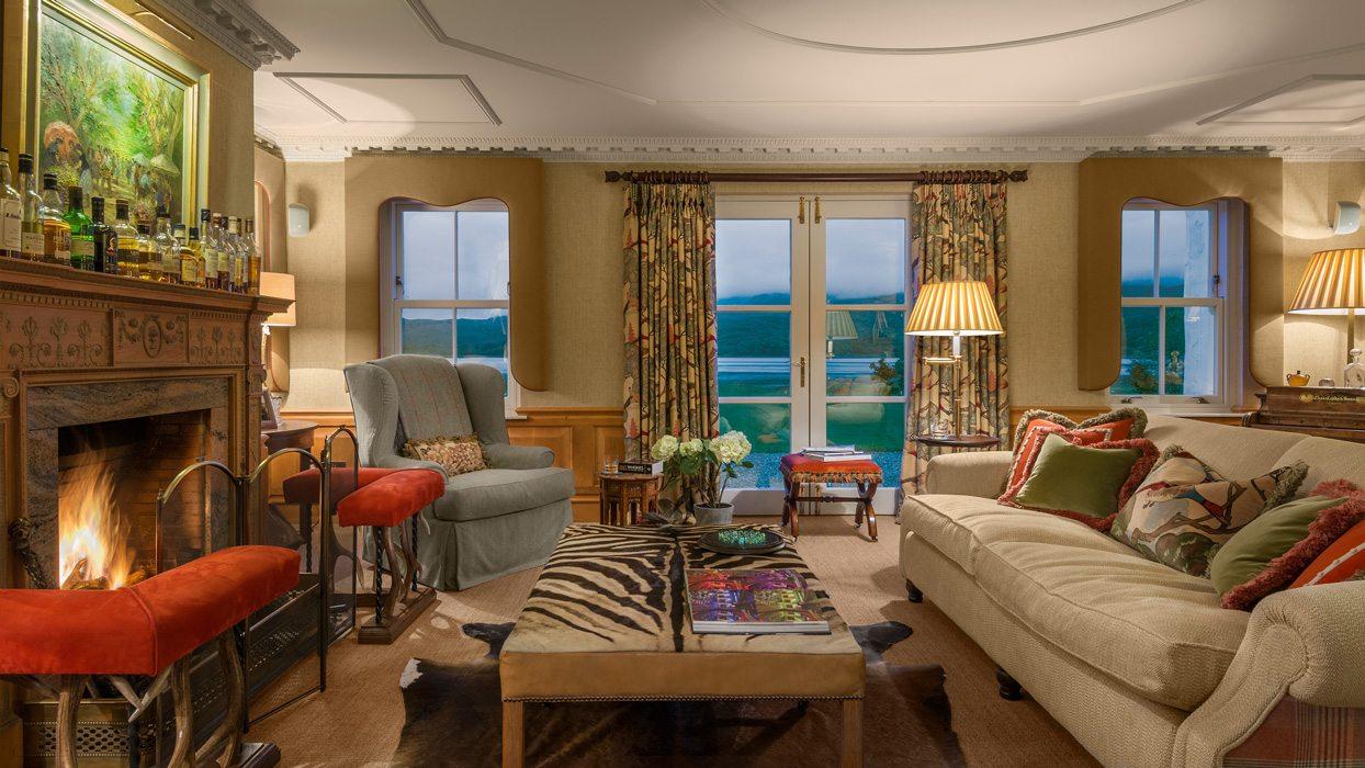 Laudale Estate Scotland Interior Sitting Room Traditional Design Photograph