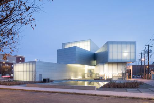 white brick design architecture with light interior