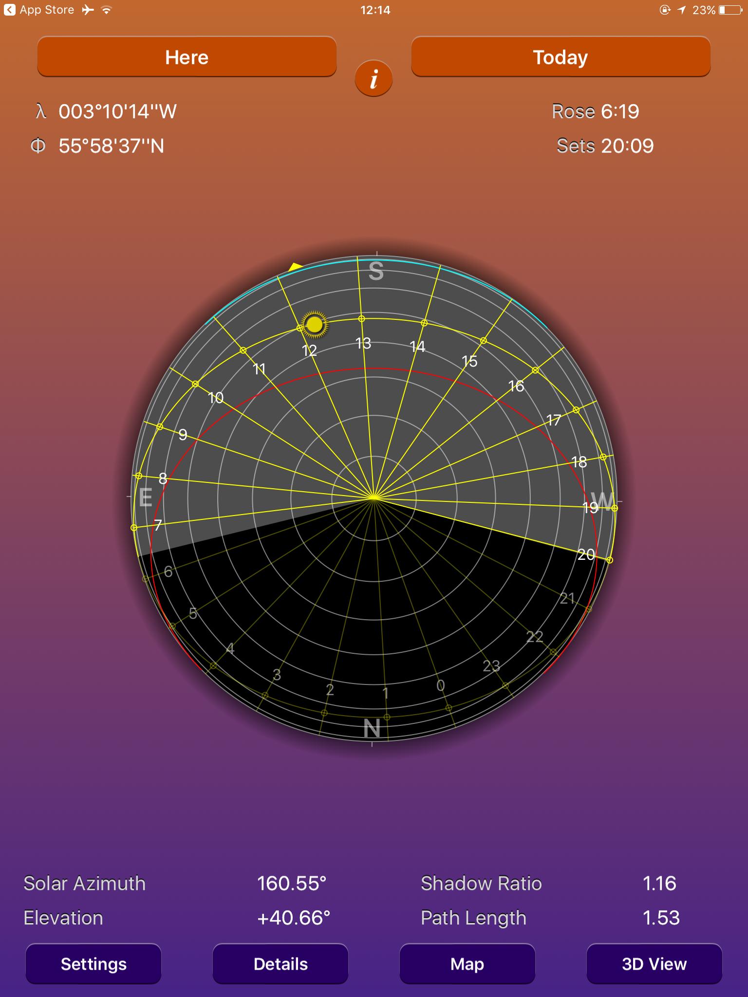 The SunSeeker App ZAC and ZAC