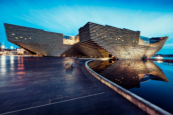 v and a Dundee architectural exterior