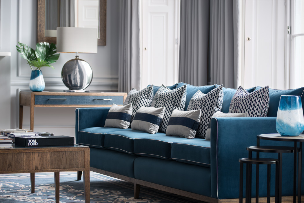 charlotte james blue furniture