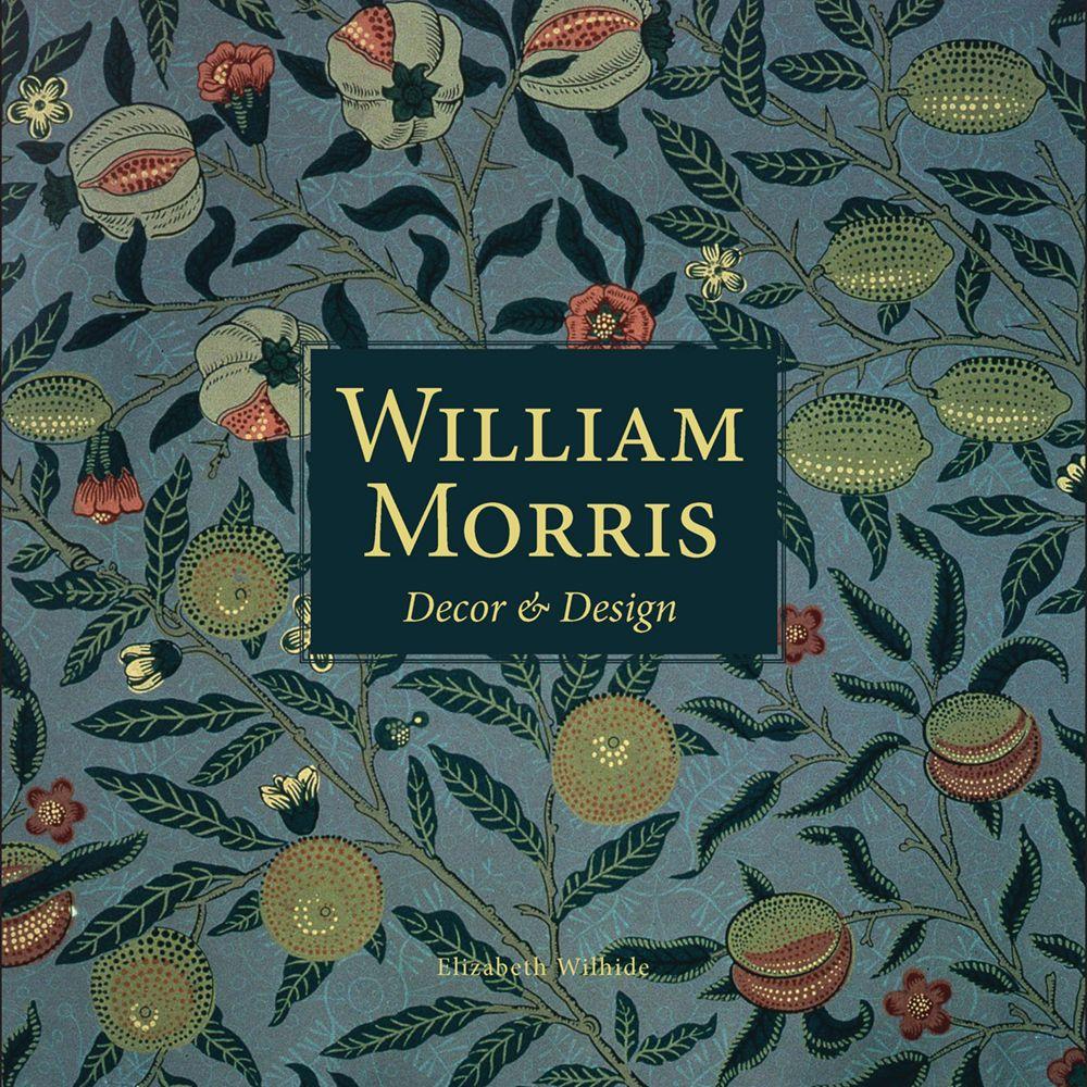 William Morris decor and design book cover